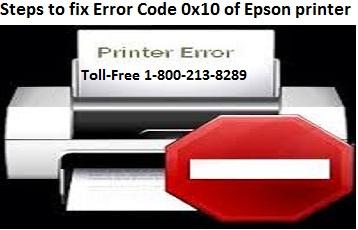Logo for Steps to fix Error Code 0x10 of Epson printer