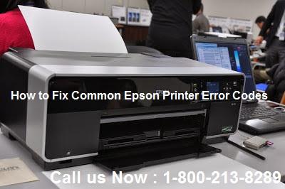 How to Fix Common Epson Printer Error Codes