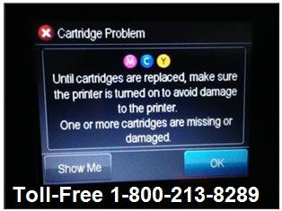 """troubleshoot Epson error message """"service Req E527"""