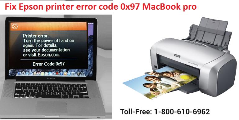 Epson printer error code 0x97
