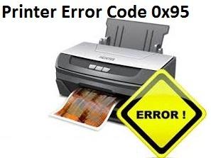 Fix Epson Printer Error Code 0x95