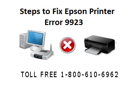 Fix Epson Printer Error 9923