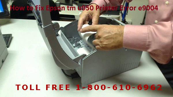 How to Fix Epson tm u950 Printer Error e9004