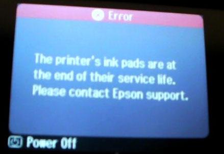 Troubleshoot Epson Printer 9600 Error Code 0040