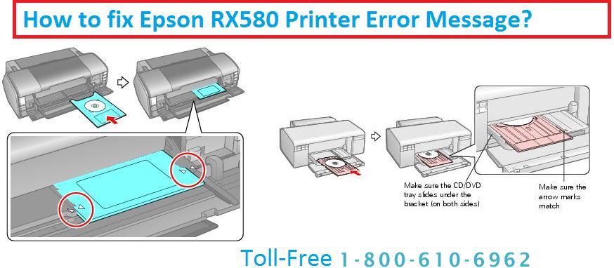 Epson RX580 Printer Error Message