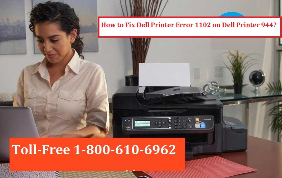 Dell Printer Error 1102