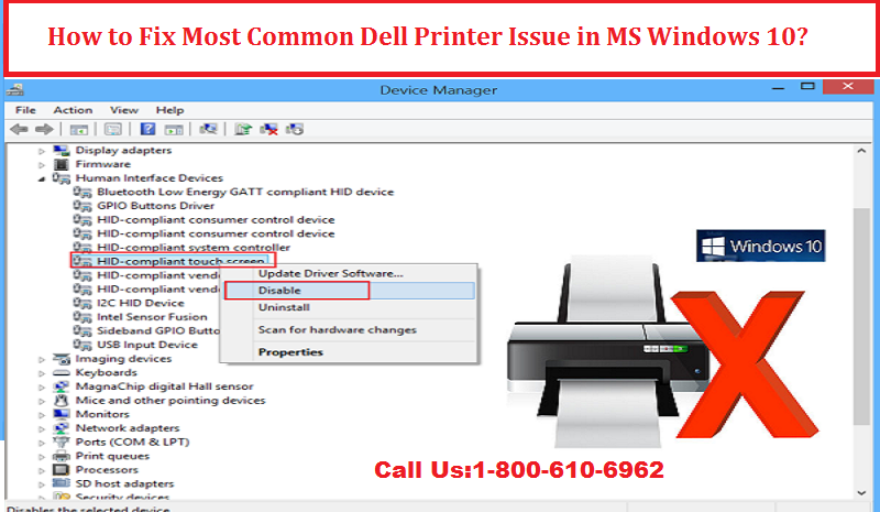 How to Fix Most Common Dell Printer Issue in MS Windows 10