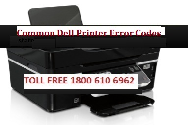 Dell Printer common error codes