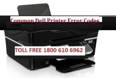 Dell Printer common error codes