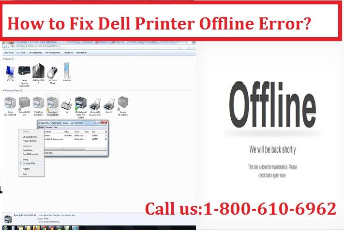 Fix Dell Printer Offline Error