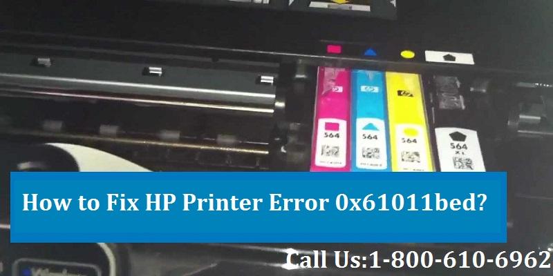 Fix HP Printer Error 0x61011bed