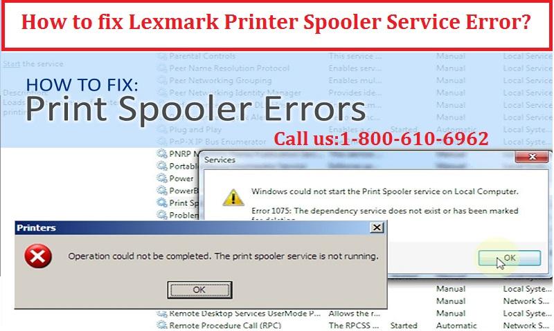 Lexmark Printer Spooler Service Error