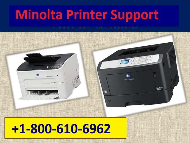 Minolta Printer Support