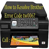 Resolve Brother Error Code tw006