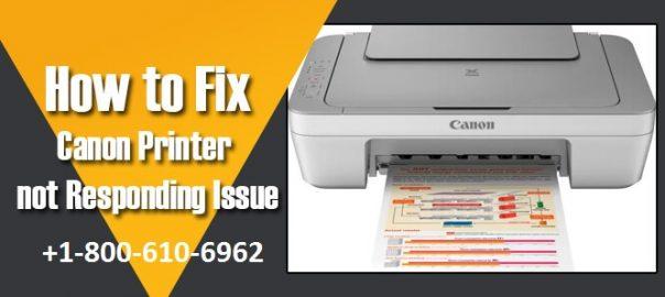 Canon Printer Is Not Responding