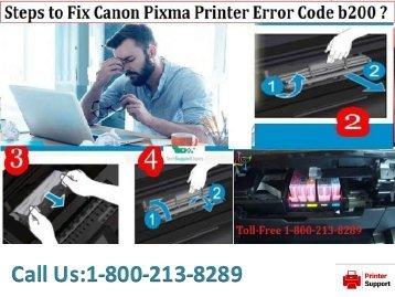 Error Code 5800 in Canon Printer