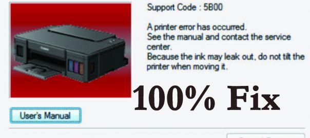How to Fix Error Code 5800 in Canon Printer