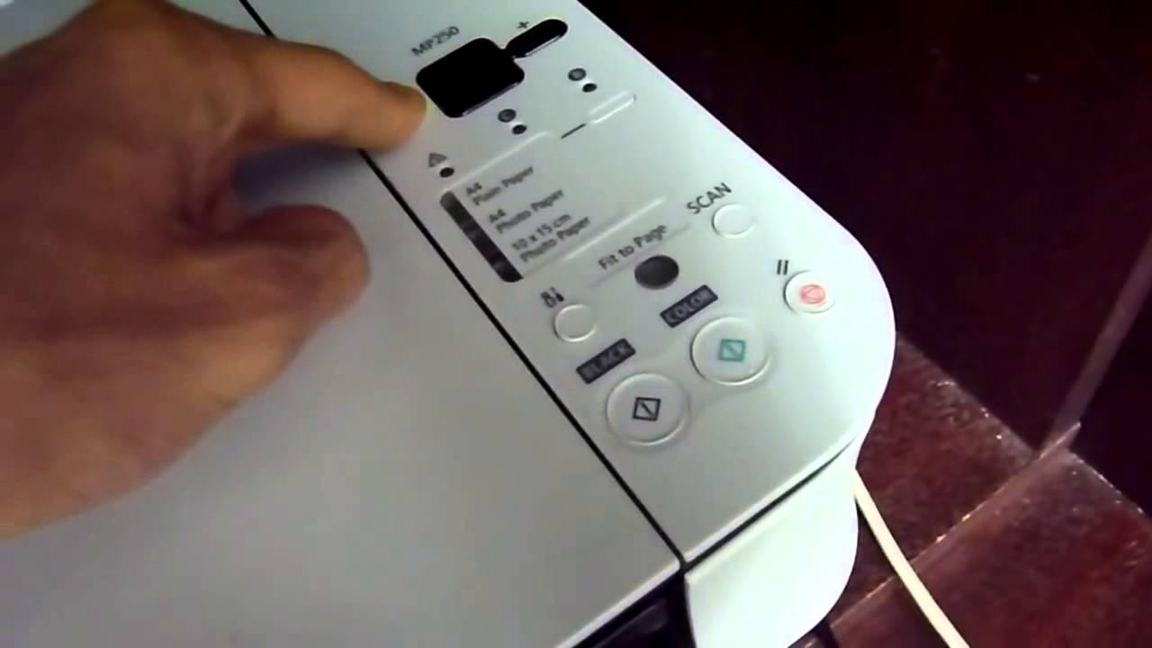 Fix Canon printer Error Code P02