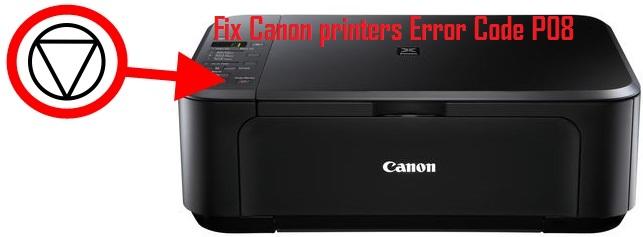 Canon printers Error Code P08